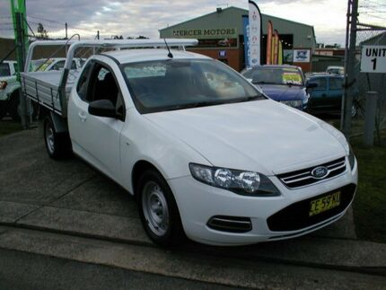 2012 Ford Falcon FG MK2 (LPI) Winter White 6 Speed Automatic South Windsor Hawkesbury Area Preview