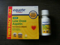 81mg LOW DOSE,enteric coated ASPIRIN) I have 2 boxes of 81 mg.,