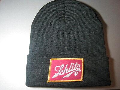 SCHLITZ BEER BEANIE BEANNIE CAP LOOK & BUY IT NOW! GREAT GIFT ITEM!