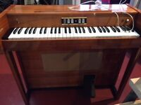 Vintage electric keyboard 1960s pop groups used these.