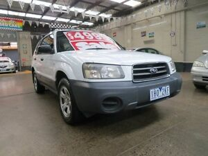 2003 Subaru Forester MY03 X 5 Speed Manual Wagon Mordialloc Kingston Area Preview