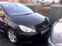 Peugeot 307 sw se hdi estate with towbar option to be 7 seater