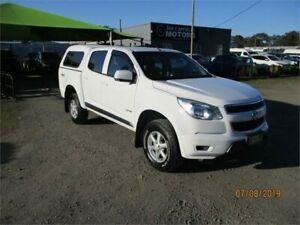 2014 Holden Colorado RG MY14 LX (4x4) White 6 Speed Automatic Crew Cab Pickup Heatherbrae Port Stephens Area Preview