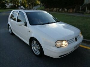 1999 Volkswagen Golf GTi White 5 Speed Manual Hatchback Chermside Brisbane North East Preview