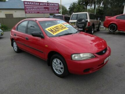 1998 Ford Laser KJIIL GLXi Red 5 Speed Manual Hatchback