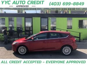 2012 Ford Focus Titanium *$99 DOWN EVERYONE APPROVED*