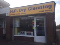 Dry Cleaners Service Wash Ironing and Blinds Business