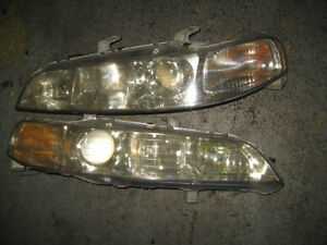 ACURA INTEGRA DC2 B18C SPEC FRONT CHROME HEAD LIGHTS JDM B18
