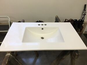 White China Bathroom Vanity Top For Sale