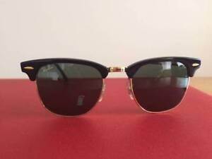 f724866a6b5 RAYBAN SUNGLASSES CLUBMASTER MODEL 3016 MADE IN ITALY. RayBan Clubmaster  Sunglasses