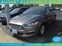 2013 Ford Fusion SE, $49/Weekly, VERY CLEAN, 100% ALL APPROVED!