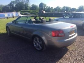 Audi A4 S Line Convertible