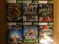 Lot of Xbox Kinnect Games