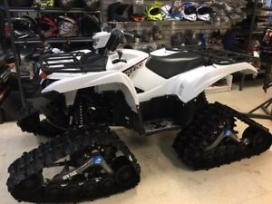 2018 Yamaha GRIZZLY 700 EPS WHITE