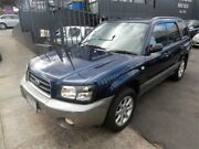 2004 Subaru Forester MY04 XS Blue 5 Speed Manual Wagon Burwood Whitehorse Area Preview