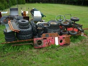 pneus  tie rod conduite transmission