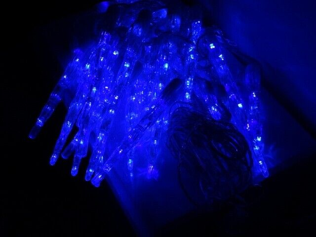 Outdoor Christmas Blue Led Icicle Lights Christmas Offer Now Only 15 In Ayr South Ayrshire Gumtree