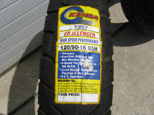 1 - Brand New Motorcycle Tires ( Only the Middle One Left) Kawartha Lakes Peterborough Area image 5