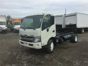 2013 Hino 195 Silver Knight Cab & Chassis