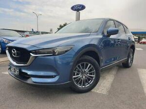 2017 Mazda CX-5 KE1072 Maxx SKYACTIV-Drive FWD Sport Blue 6 Speed Sports Automatic Wagon Kilmore Mitchell Area Preview