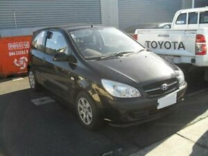2008 Hyundai Getz TB Upgrade S Black 4 Speed Automatic Hatchback Moorabbin Kingston Area Preview