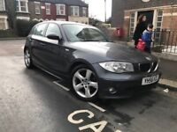 BMW 1 SERIES 120D MANUAL DIESEL FULL SERVICE HISTORY 1 YEAR MOT SPORTS MODEL EXCELLENT