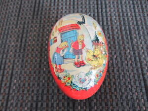 Antique Easter Egg Container
