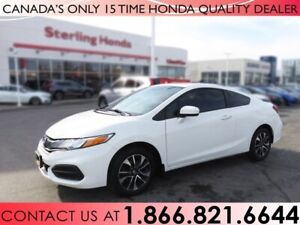 2015 Honda Civic Coupe EX | COUPE | 1 OWNER
