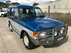 1997 Land Rover Discovery ES Blue 5 Speed Manual Wagon