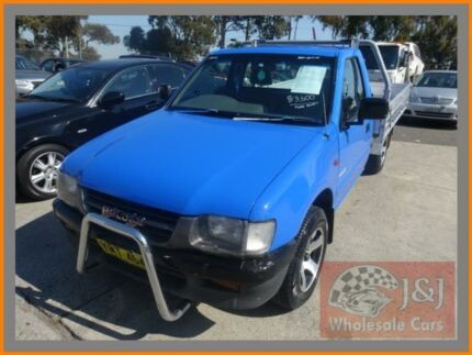 1999 Holden Rodeo TFR9 DX Blue 5 Speed Manual Cab Chassis Warwick Farm Liverpool Area Preview