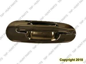 Door Handle Outer Rear Passenger Side Chrome Honda CRV 1997-2001