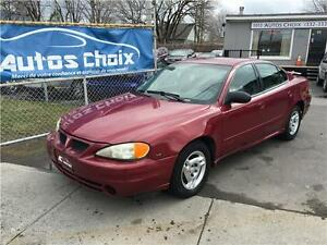 PONTIAC GRAND AM  2004 **AIR CLIIMATISE**TOUT EQUIPE**