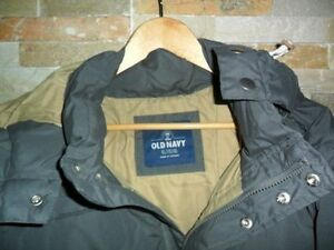 new WINTER COAT JACKET OLD NAVY MENS SIZE XL VESTE MANTEAU GREY