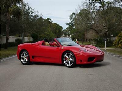 2003 Ferrari 360  2003 Ferrari 360 Spider