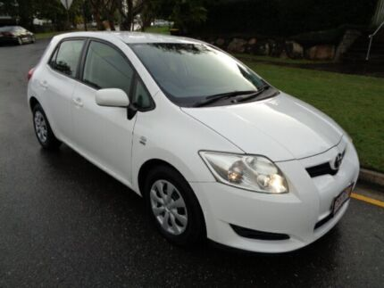 2007 Toyota Corolla ZRE152R Ascent White 4 Speed Automatic Hatchback Chermside Brisbane North East Preview