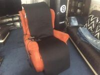 Only £190 Disability Riser Reclining Chair With Shiatsu Massager Cushion - Was £2.500