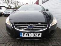 VOLVO V60 2.0 D3 ES NAV 5d 134 BHP (black) 2013