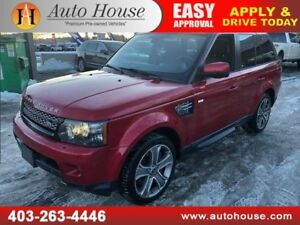 2012 LAND ROVER RANGE ROVER SPORT SUPERCHARGED NAVI BACKUP CAM