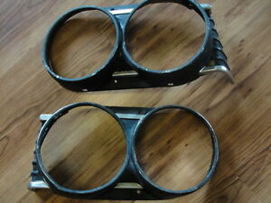 1964 Chevelle EL Camino headlight bezels
