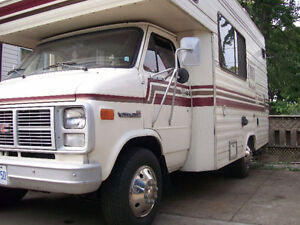 RV parking outside