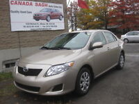 2010 Toyota Corolla AUTO, only 58KM, AC,SAFETY+12M.WRTY $9490