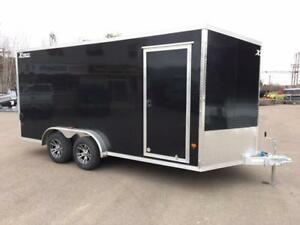 NEW 2018 XPRESS 7.5' x 16' ALUMINUM ENCLOSED TRAILER