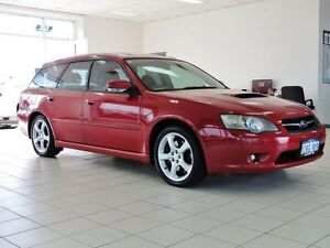 2004 Subaru Liberty MY04 GT Premium Red 5 Speed Electronic Sportshift Wagon Morley Bayswater Area Preview