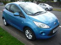 Ford Ka 1.2i 8V 69BHP EDGE **Low Mileage** (blue) 2010