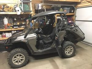 2013 Can Am Commander 800 w/Roof; 1/2 WShield; Snow Blade; Door Regina Regina Area image 2
