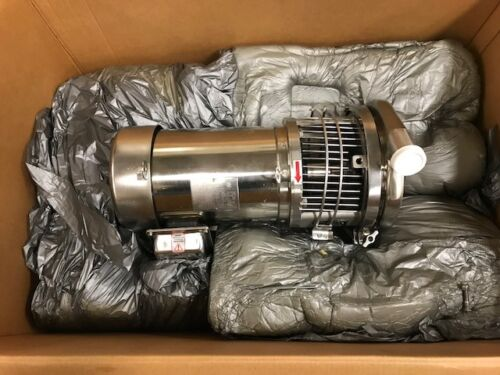 Waukesha/Cherry-Burrell- C-218 S/S Pump w/ a Stirling 5-HP, Stainless Motor-NEW