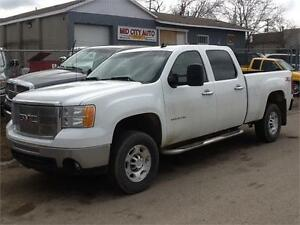 2010 GMC SIERRA 2500 LONGBOX 4X4 $11500 MIDCITY SOLD