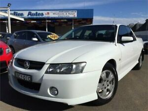 2007 Holden Crewman VZ MY06 Upgrade S White 4 Speed Automatic Crew Cab Utility Blacktown Blacktown Area Preview