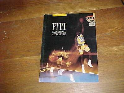 1989 Pitt Panthers Basketball Media Guide