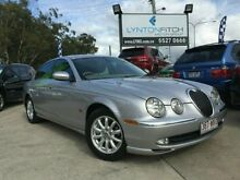 2002 Jaguar S-Type X202 SE Silver 6 SPEED Automatic Sedan Southport Gold Coast City Preview